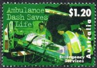 Australia SG1701 1997 Emergency Services $1.20 good/fine used